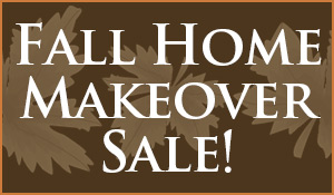 Fall Home Makeover Sale going on now at Seland's Karpetland in Coon Valley, Wisconsin. Lowest prices of the season!