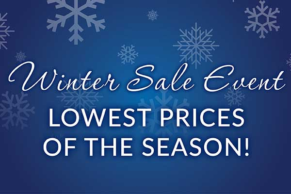 Winter Sale Even with the Lowest prices of the season at Seland's Karpetland
